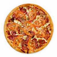 Пицца с ветчиной и грибами 32 см