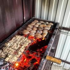 Шашлык из мякоти свинины. Кубанское мясо!